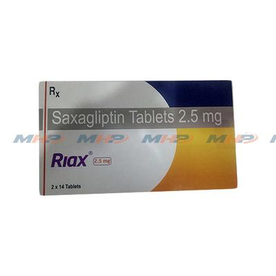 Riax 2.5мг (Саксаглиптин)
