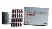 Ribavirin Heptos 200mg by Hetero