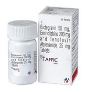 Taffic (Тенофовир, эмтрицитабин, биктегравир)