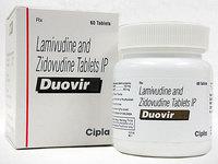 Duovir (Зидовудин Ламивудин)