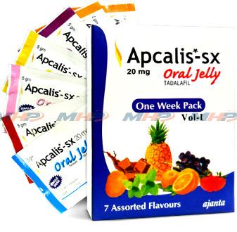 Apcalis SX oral  jelly (Тадалафил)