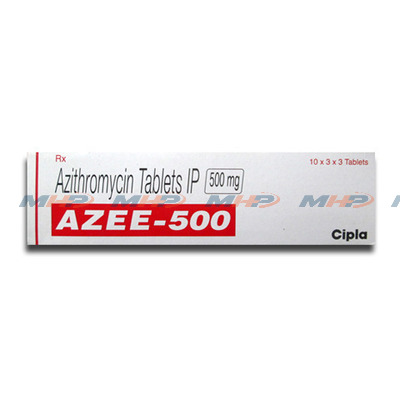 Azee 500мг (Азитромицин)