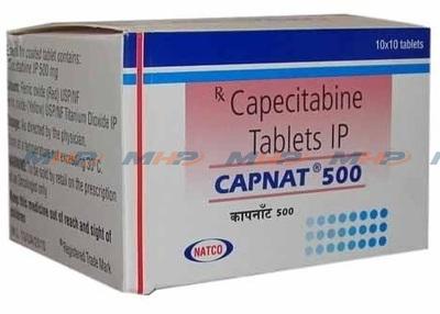 Capnat 500мг ( Капецитабин )