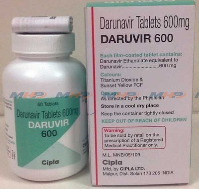 Daruvir 600-Дарунавир