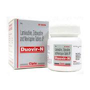 Duovir N(Ламивудин, Зидовудин и Невирапин)