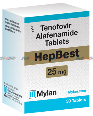 HepBest (Vemlidy) Тенофовир+Алафенамид