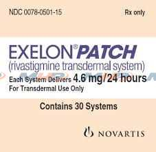 Exelon Patch 4.6mg Ривастигмин