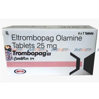 Trombopag 25 (Эльтромбопаг Оламин)