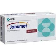Janumet 50mg/500mg Ситаглиптин + Метформин