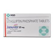 Januvia 25mg Моногидрат ситаглиптинфосфата