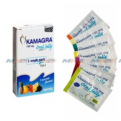 Kamagra Oral Jelly 100 mg (Силденафил)