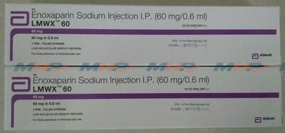 LMWX 60мг (Эноксапарин натрия)