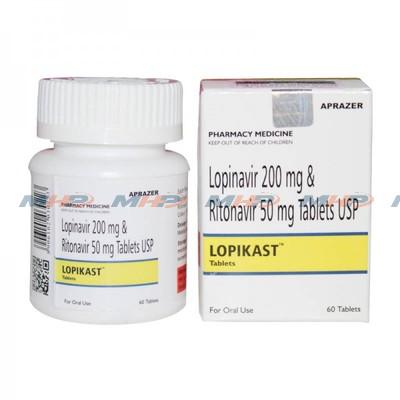 lopikast(Лопинавир и ритонавир)
