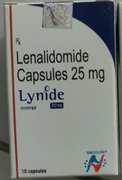 Lynide 25мг (Леналидомид)