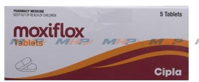 Moxiflox 400мг(Моксифлоксацин )