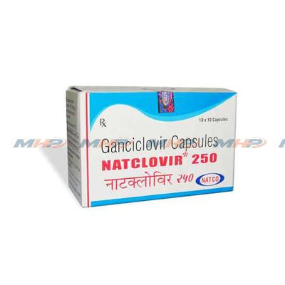 Natclovir 250mg (Ганцикловир)