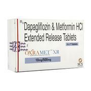 Oxramet XR 10/500мг (Дапаглифлозин метформин)