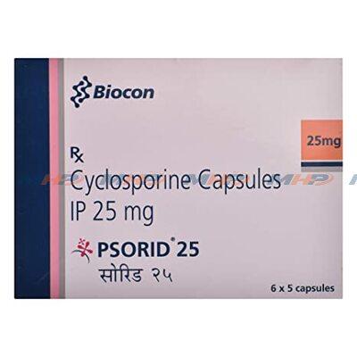 Psorid 25мг (Циклоспорин)