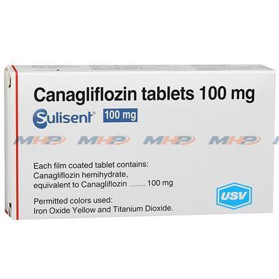 Sulisent 100mg (Канаглифлозин)