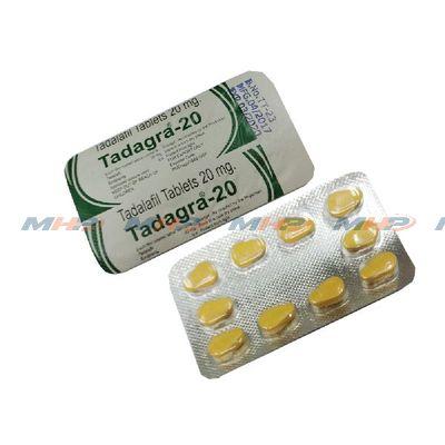 Tadagra 20 mg (Тадалафил)