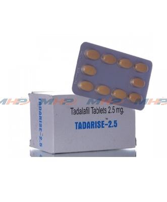 Tadarise 2.5mg (Тадалафил)