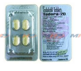 Tadora 20mg  (Тадалафил)