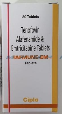 Tafmune EM(Эмтрицитабин и тенофовир алафенамид)