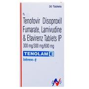 Tenolam E (Тенофовир Ламивудин Эфавиренц)