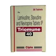 Triomune 40 (Ламивудин Ставудин Невирапин)