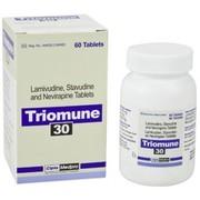 Triomune 30 (Ламивудин Ставудин Невирапин)
