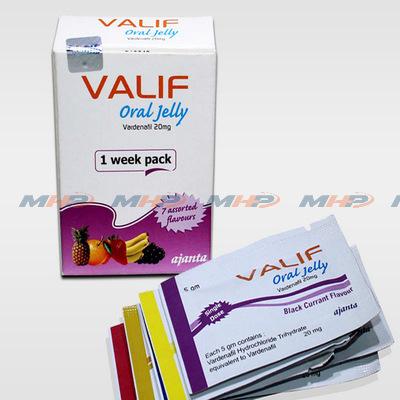 Valif Oral Jelly 20mg (Варденафил)