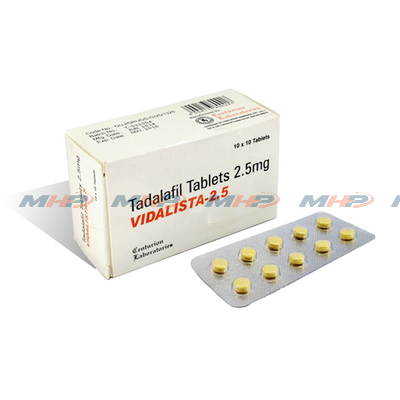 Vidalista 2.5 mg (Тадалафил)