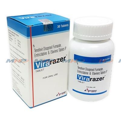 Virarazer (Эфавиренз Эмтрицитабин Тенофовир)