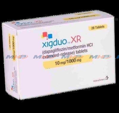 Xigduo XR 10/1000mg (Дапаглифлозин метформин)