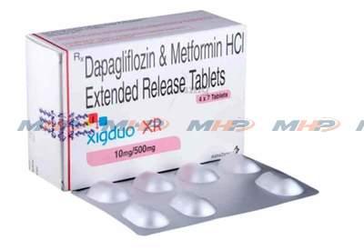 Xigduo XR 10/500mg (Дапаглифлозин метформин)