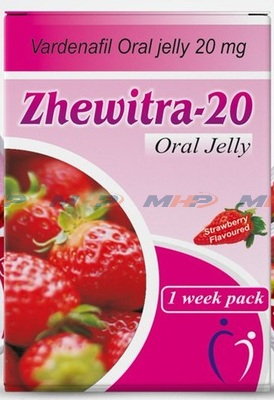 Zhewitra Oral Jelly 20mg  (Варденафил)